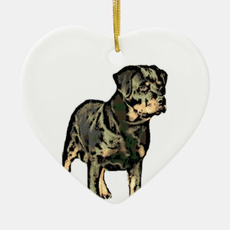 Rottweiler ornament