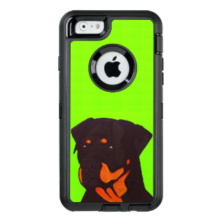 Rottweiler OtterBox Defender iPhone Case