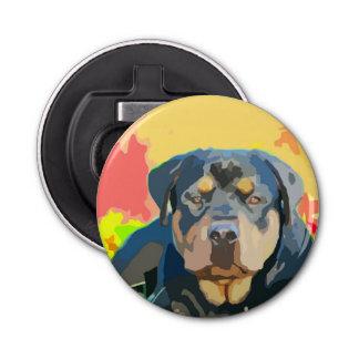 Rottweiler Portrait Digital Painting