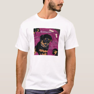 Rottweiler Pup EDUN Live Genesis Unisex black T-Shirt