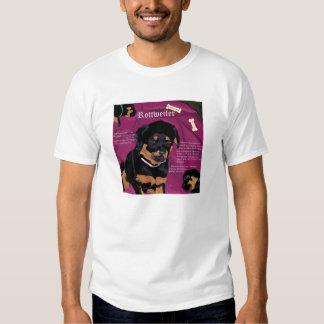 Rottweiler Pup EDUN Live Genesis Unisex black Tshirt