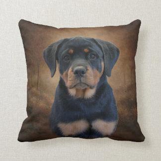 Rottweiler Puppy Cushion