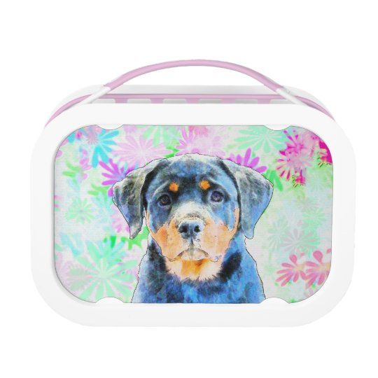 Rottweiler Puppy Lunch Boxes