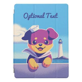 Rottweiler Puppy Sea Dog Sailor iPad Pro Cover