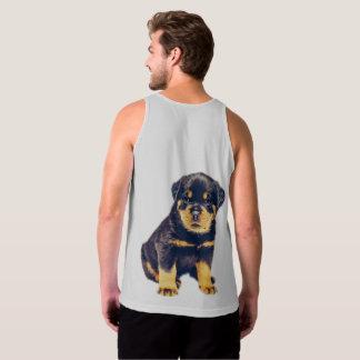 Rottweiler Puppy Singlet