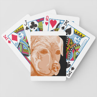 Rottweiler Sepia Tones Bicycle Playing Cards