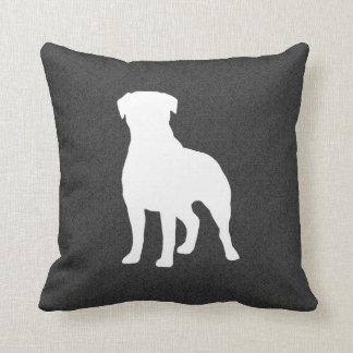 Rottweiler Silhouette Cushions