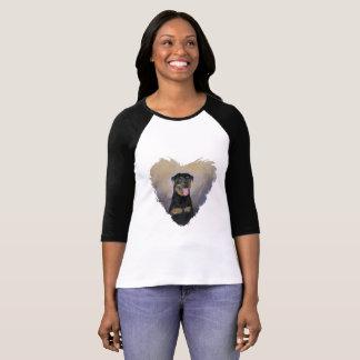 Rottweiler T Shirt, Impressionism, Colorful T-Shirt