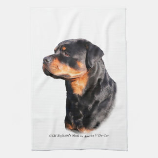 Rottweiler Tea Towel