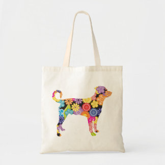 Rottweiler (Undocked Tail) Budget Tote Bag