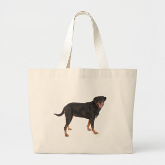 rottweilers large tote bag