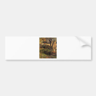 Rouen at spring by Paul Gauguin Bumper Sticker