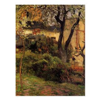 Rouen at spring by Paul Gauguin Postcard