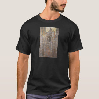 Rouen Cathedral 02 by Claude Monet T-Shirt