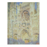 Rouen Cathedral at Sunset, 1894 Postcard