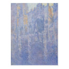 Rouen Cathedral, the Portal, Morning Fog by Claude Postcard