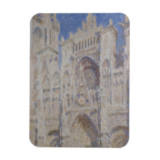 Rouen Cathedral The Portal Sunlight Magnet