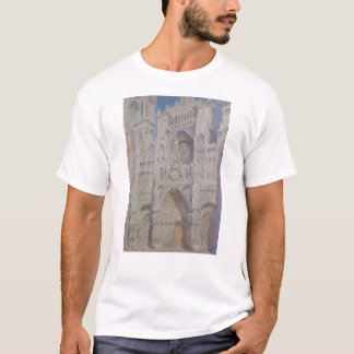 Rouen Cathedral The Portal Sunlight T-Shirt