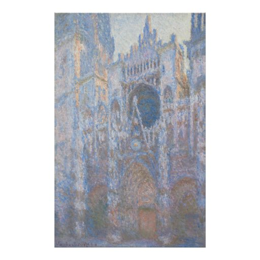 Rouen Cathedral West Facade by Claude Monet Posters