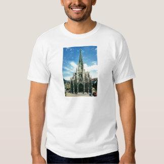 Rouen, Eglise St Maclau Vintage France T Shirt
