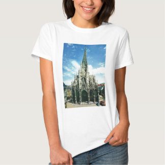 Rouen, Eglise St Maclau Vintage France Tshirts