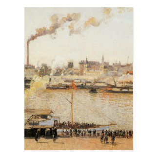 Rouen, Saint Sever Morning by Camille Pissarro Postcard