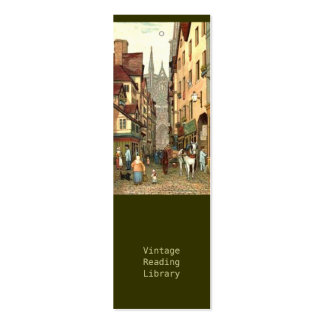 Rouen Street Double-Sided Mini Business Cards (Pack Of 20)