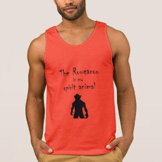 Rougarou Is My Spirit Animal Cajun Werewolf Tank