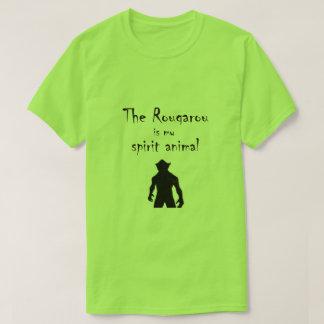 Rougarou Is My Spirit Animal Cajun Werewolf Tee