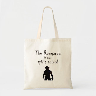 Rougarou Is My Spirit Animal Cajun Werewolf Tote