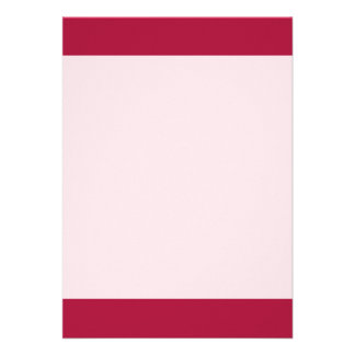 """Rouge color 5"""" x 7"""" invitation card"""