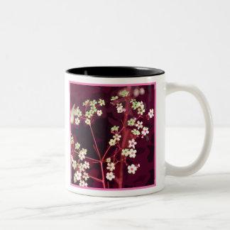 Rouge Floral Mug