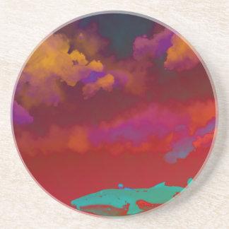 Rouge Sea Sandstone Coaster