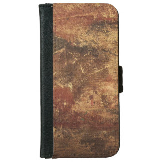 Rough and Weathered Grunge Texture iPhone 6 Wallet Case