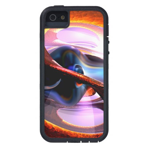 Rough Around the Edges Abstract iPhone 5 Covers