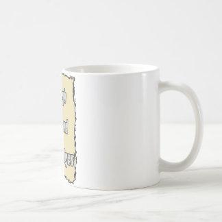 rough around the edges basic white mug