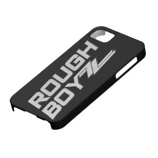 Rough BoyZZ  Barely There iPhone 5 case Black