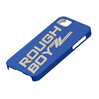 Rough BoyZZ  Barely There iPhone 5 case Blue