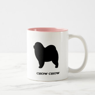 Rough Chow Chow Two-Tone Mug