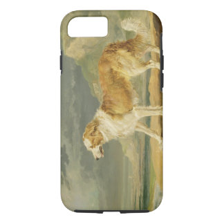 Rough-coated Collie, 1809 (oil on board) iPhone 7 Case
