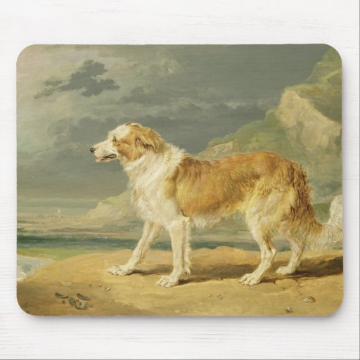 Rough-coated Collie, 1809 (oil on board) Mouse Pads