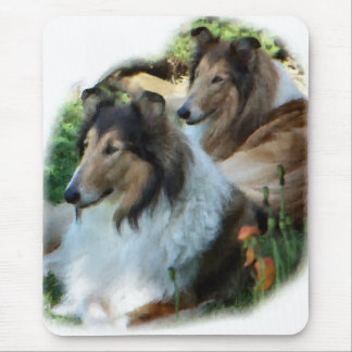 Rough Collie Art Gifts Mouse Pad