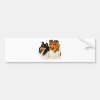 Rough Collie Bumper Sticker