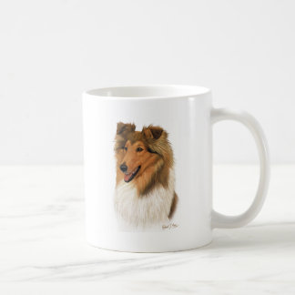 Rough Collie Coffee Mug