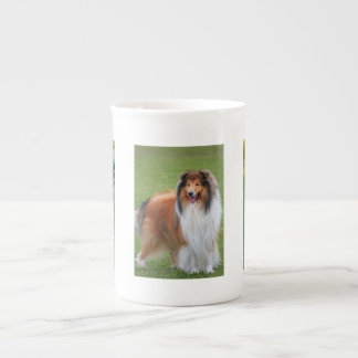 Rough Collie Dog Lovers photo bone china mug