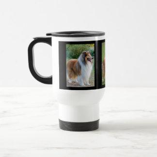 Rough Collie Dog Lovers Photo Commuter Mug