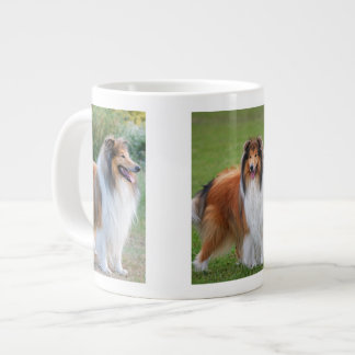 Rough Collie Dog Lovers photo jumbo mug