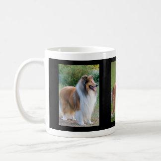 Rough Collie Dog Lovers Photo Mug