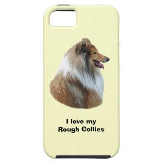 Rough Collie dog portrait photo Case For iPhone 5/5S