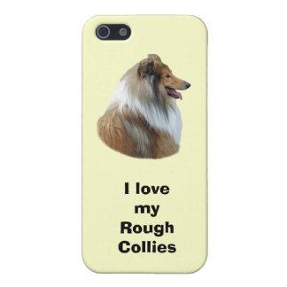 Rough Collie dog portrait photo Case For iPhone 5